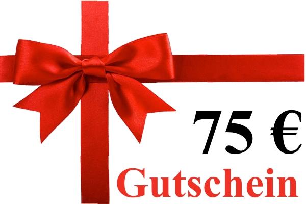 Geschenk-Gutschein über 75,00 Euro