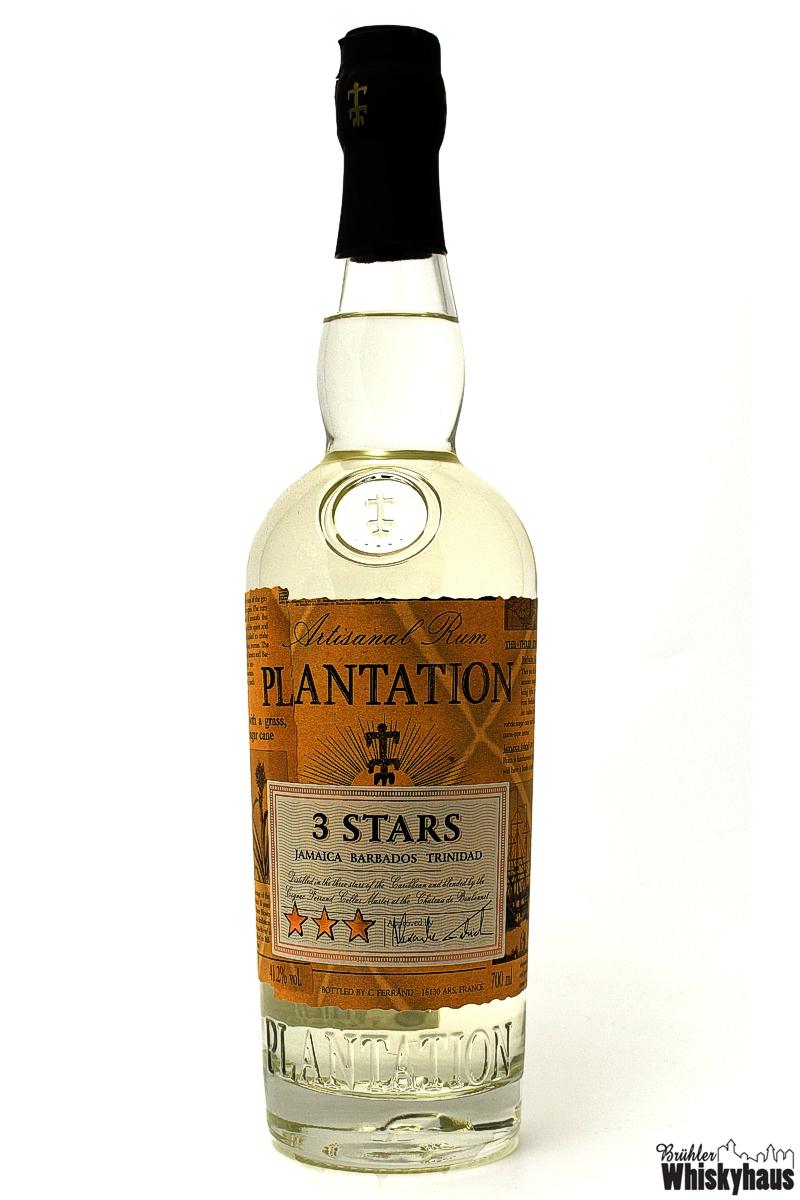 3 Stars Artisanal Plantation Rum (Jamaica, Barbados & Trinidad)