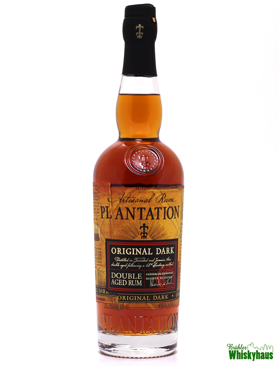 Plantation Original Dark - Double Aged Rum - Artisanal Rum