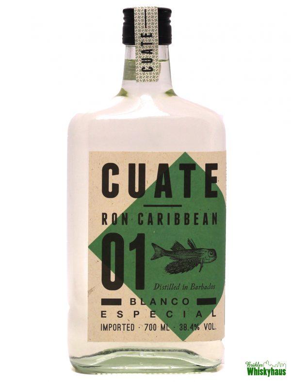 Cuate Ron Caribbean 01 - Blanco Especial - Distilled in Barbados