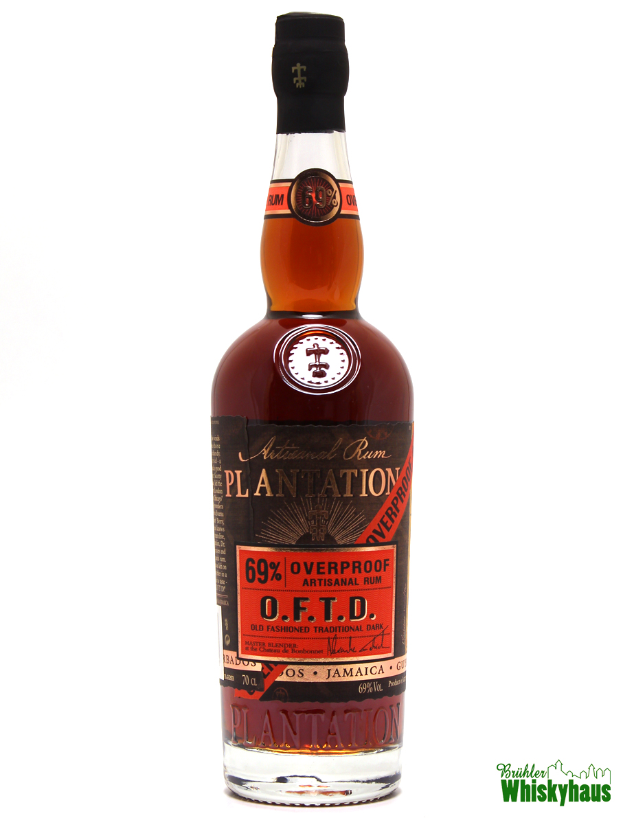 Plantation O.F.T.D. Old Fashioned Traditional Dark - 69% Overproof - Artisanal Rum