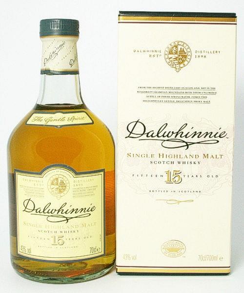 Dalwhinnie 15 Jahre - The Gentle Spirit - Single Malt Scotch Whisky