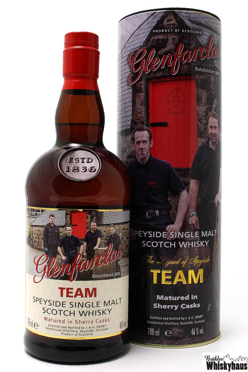 Glenfarclas TEAM - Trilogy - Speyside Single Malt Scotch Whisky