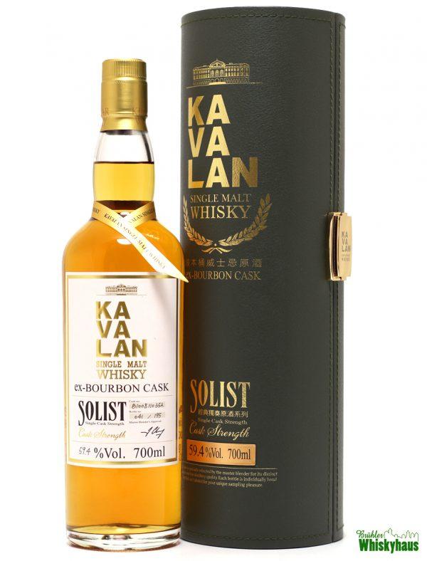 Kavalan Solist - ex-Bourbon Cask - Single Malt Whisky
