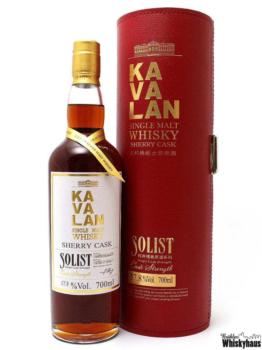 Kavalan Solist - Single Sherry Cask Strength - Cask N° So90/02027 - Single Malt Whisky