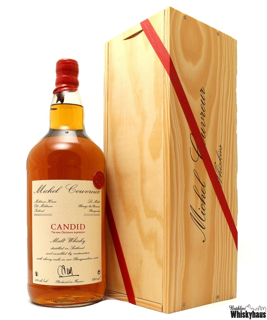 Michel Couvreur CANDID - The New Disclosure Expression - Malt Whisky - Magnum Bottling