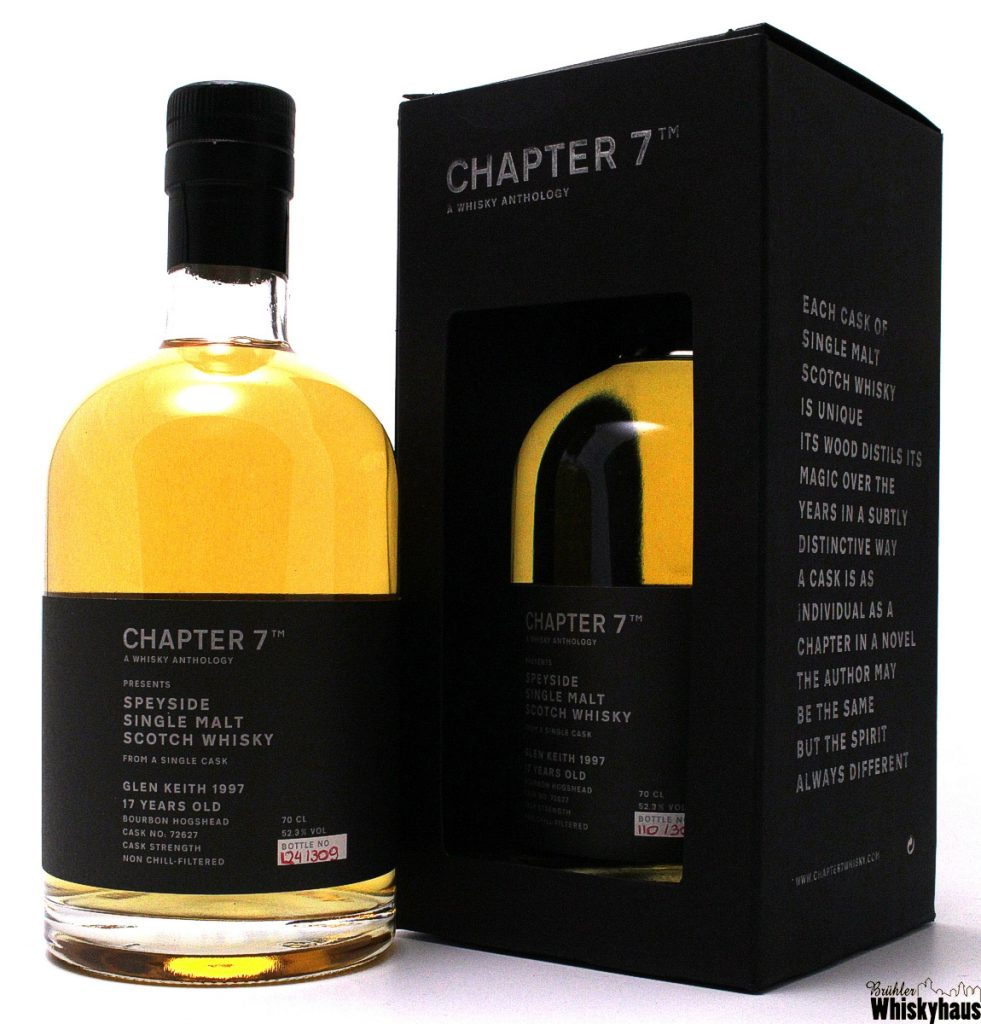 Glen Keith 17 Jahre - Bourbon Hogshead No. 72627 - CHAPTER 7 - Single Malt Scotch Whisky
