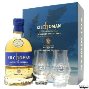 Kilchoman Machir Bay - Gift Pack inkl. 2 Glencairn Gläser - Islay Single Malt Scotch Whisky