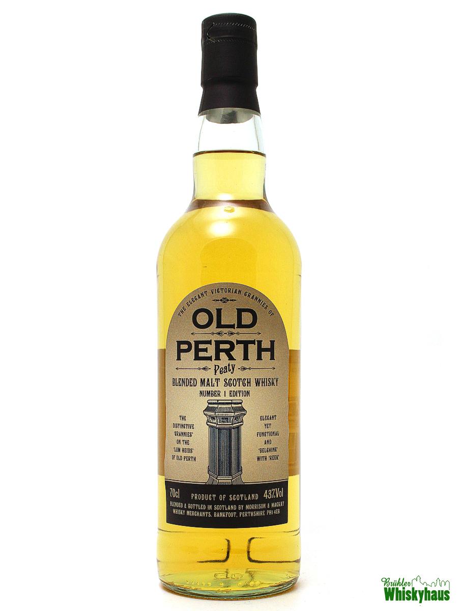 "Old Perth ""Peaty"" Blended Malt Scotch Whisky"
