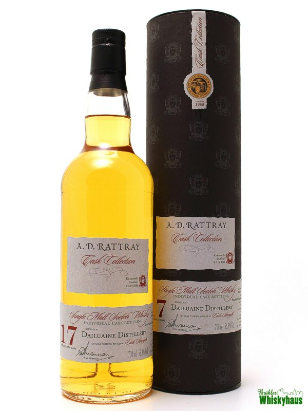 Dailuaine 17 Jahre - Bourbon Hogshead No. 10622 - A.D. Rattray - Single Malt Scotch Whisky