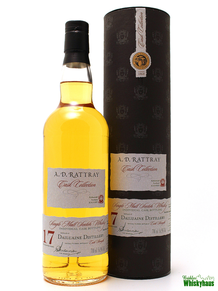 Dailuaine 17 Jahre - Bourbon Hogshead No. 10622 - A.D. Rattray - Single Malt Scotch Whisky