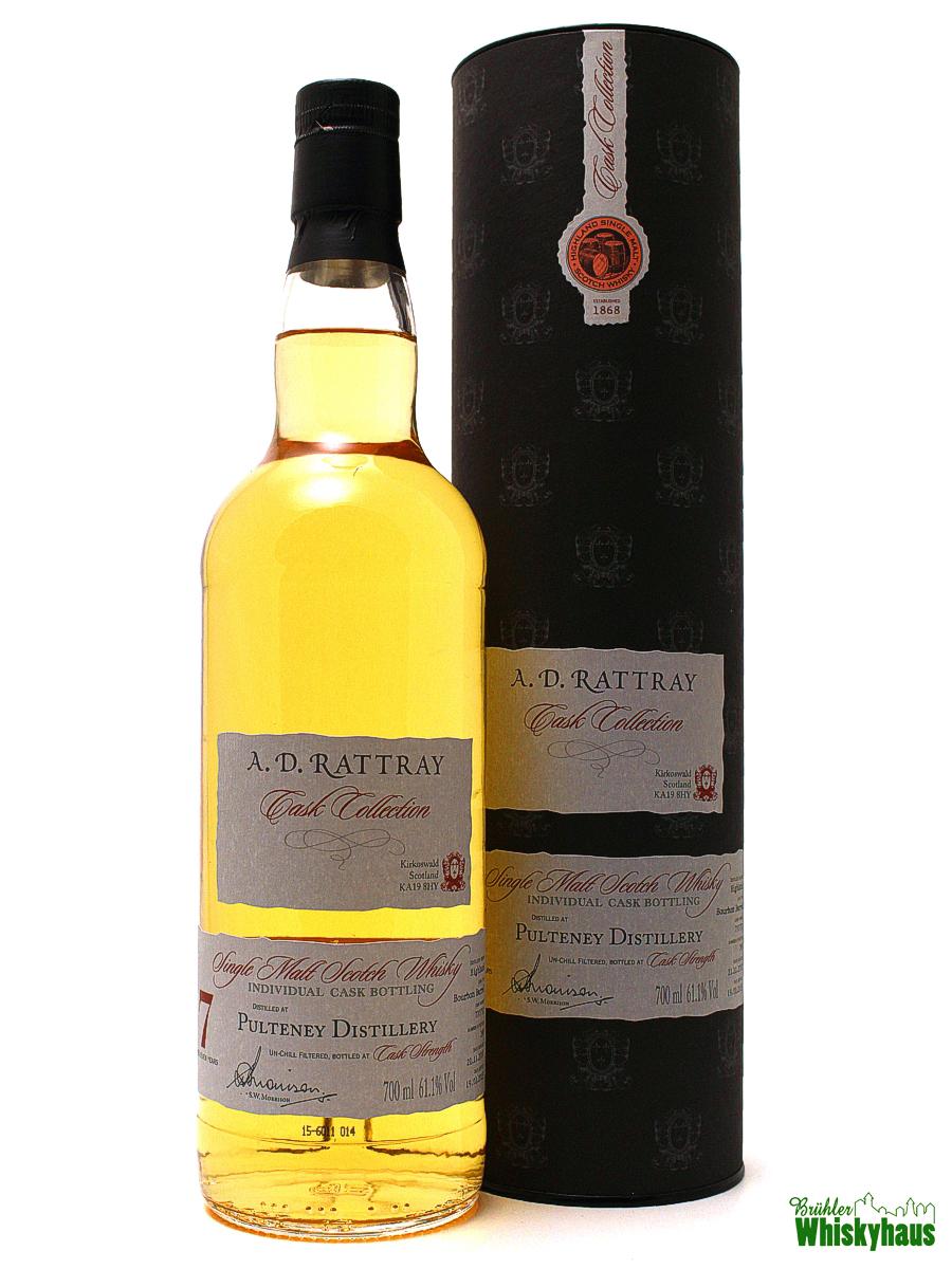Pulteney 7 Jahre - Bourbon Barrel No. 700752 - A.D. Rattray - Single Malt Scotch Whisky
