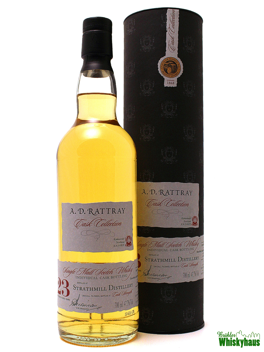 Strathmill 23 Jahre - Bourbon Hogshead No. 668072 - A.D. Rattray - Single Malt Scotch Whisky