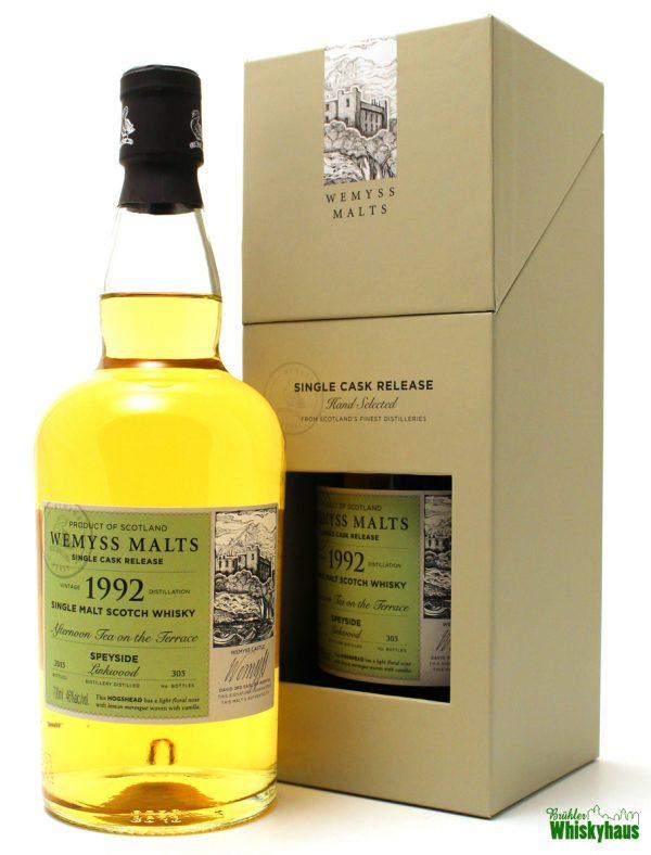 "Linkwood 22 Jahre ""Afternoon Tea on the Terrace"" - Hogshead - Wemyss Malts - Single Malt Scotch Whisky"
