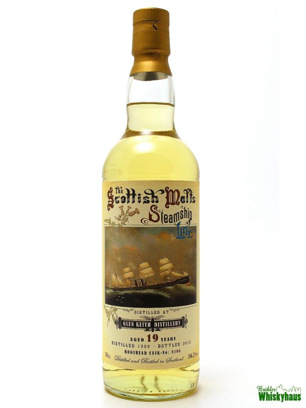 Glen Keith - The Scottish Malts Steamship Line - 19 Jahre - Jack Wiebers Whisky World - Single Malt Scotch Whisky