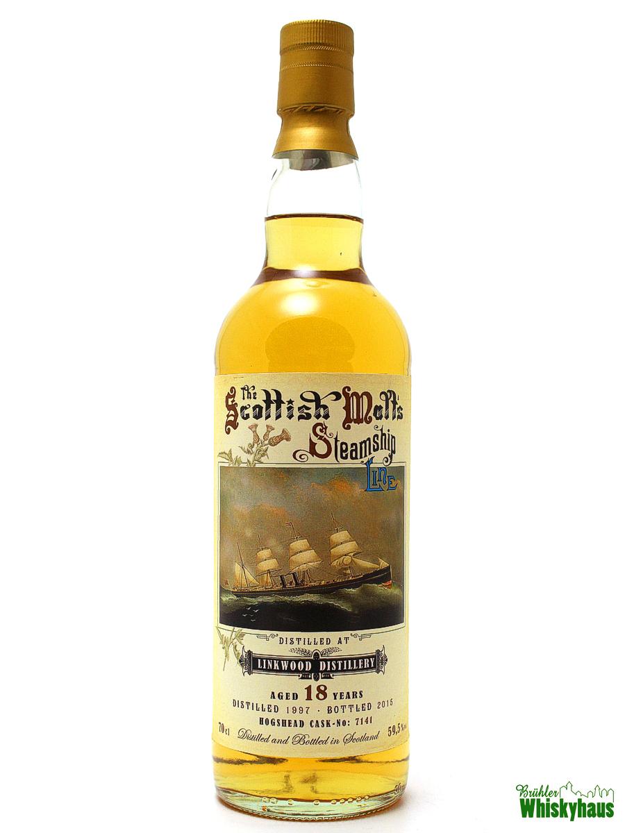 Linkwood - The Scottish Steamship Line - 18 Jahre - Jack Wiebers Whisky World - Single Scotch