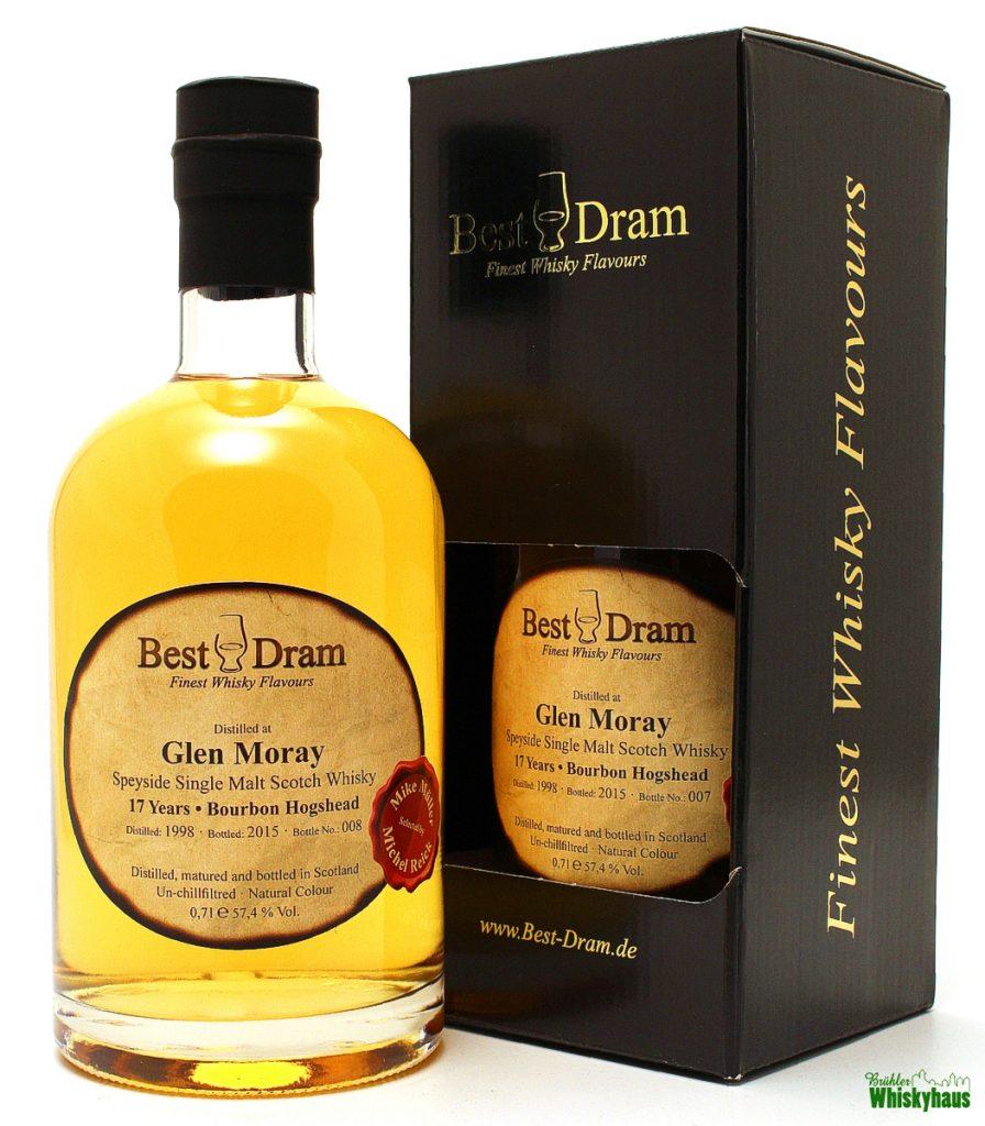 Glen Moray 17 Jahre - Bourbon Hogshead - Best Dram - Single Malt Scotch Whisky