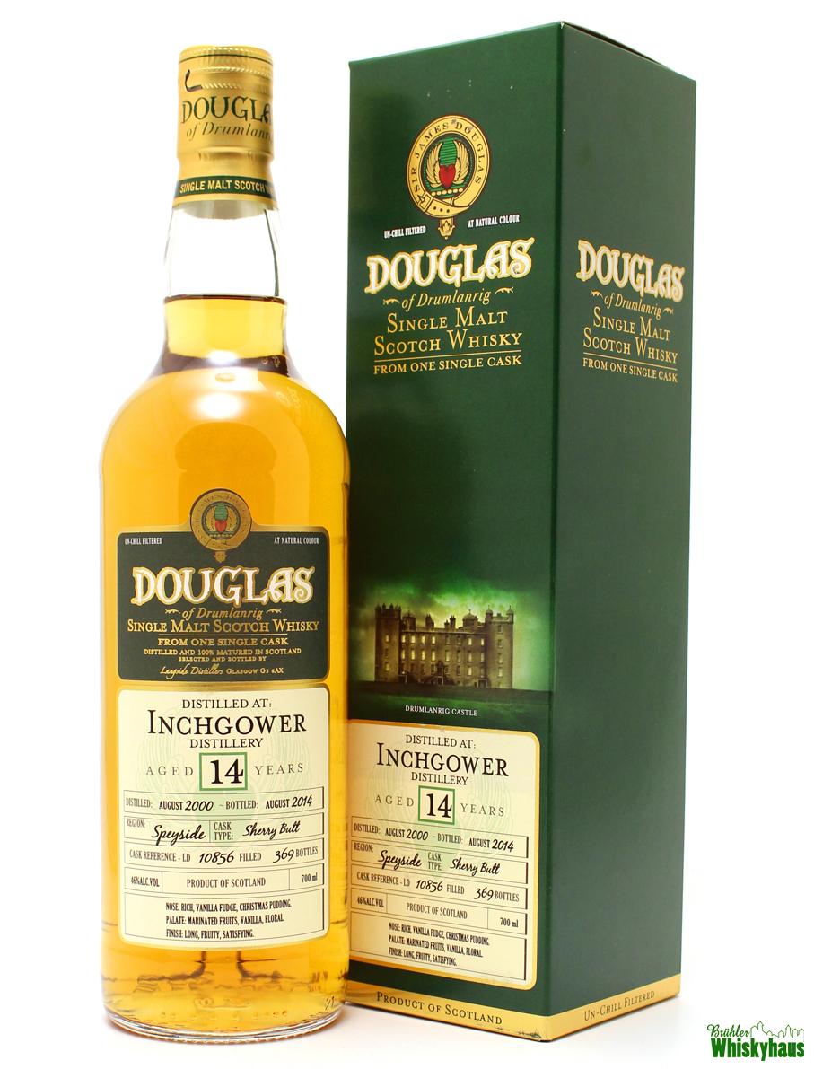 Inchgower 14 Jahre - Sherry Butt No. 10856 - Douglas of Drumlanrig - Single Malt Scotch Whisky