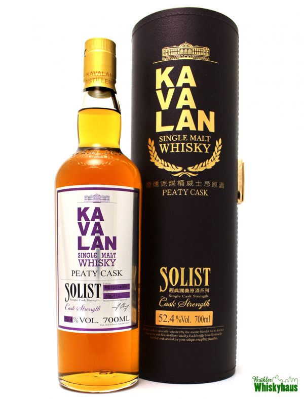 Kavalan Solist - Peaty Cask Strength - Single Malt Whisky