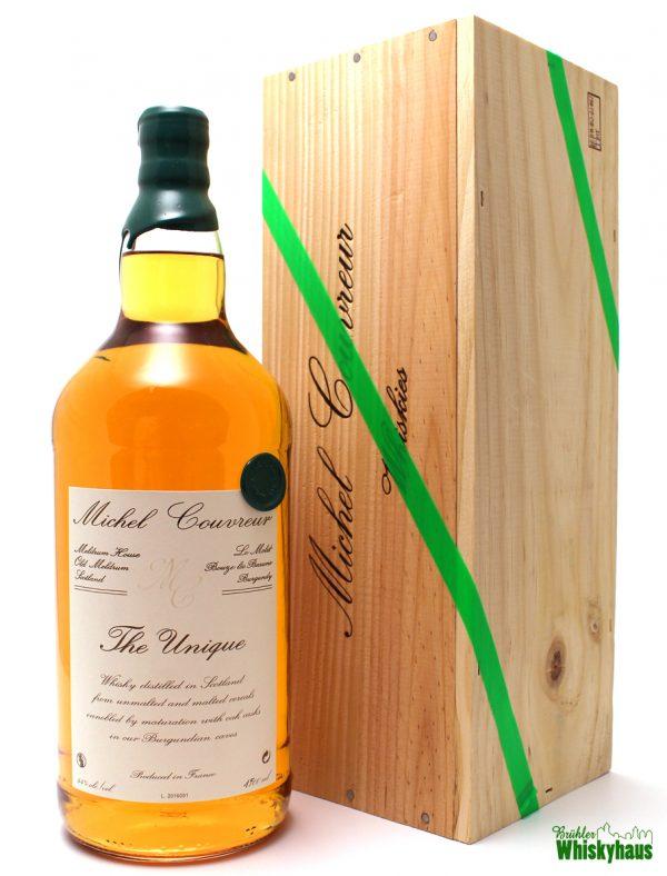 The Unique Whisky 4 Jahre - Oak Casks - Michel Couvreur - Magnum Bottling