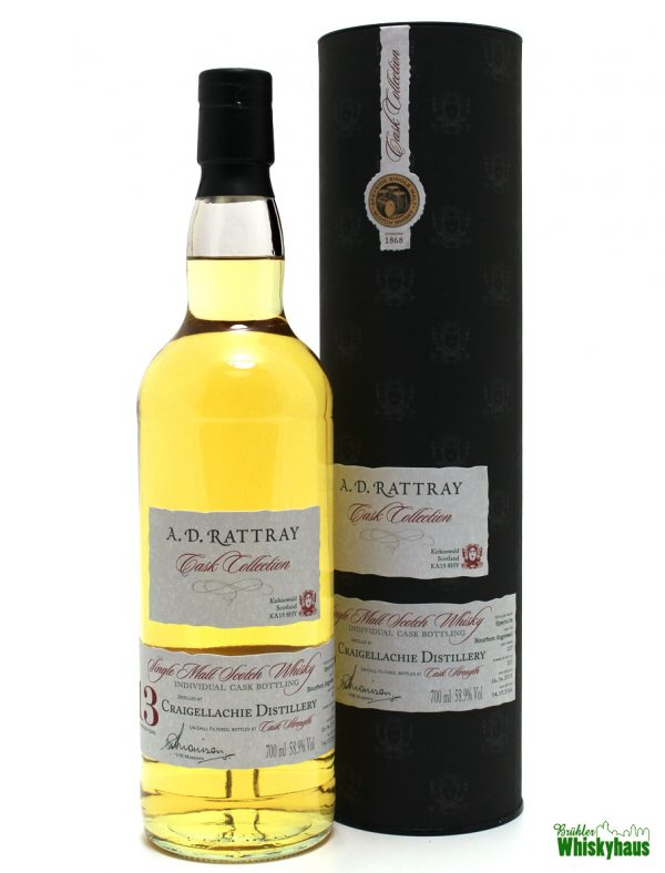 Craigellachie 13 Jahre - Bourbon Hogshead N° 127 - A.D. Rattray - Single Malt Scotch Whisky