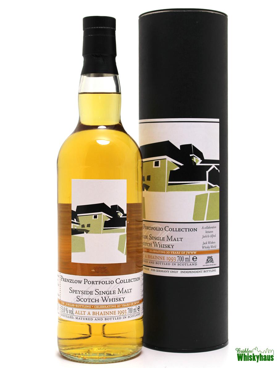 Allt A Bhaine 23 Jahre - Prenzlow Portfolio Collection - Celebration 20 Years of JWWW - Single Malt Scotch Whisky