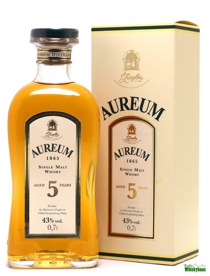Aureum 5 Jahre - Ziegler 1865 - Single Malt Whisky
