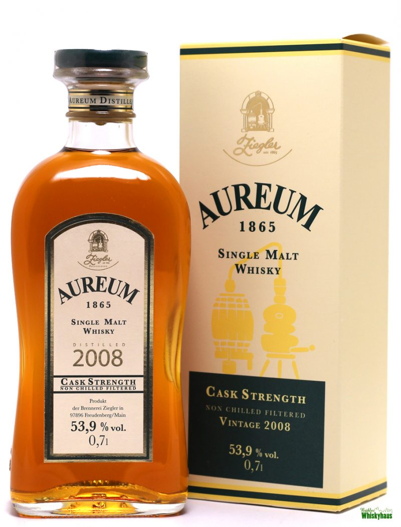 Aureum 2008 - Cask Strenght - Ziegler 1865 - Single Malt Whisky