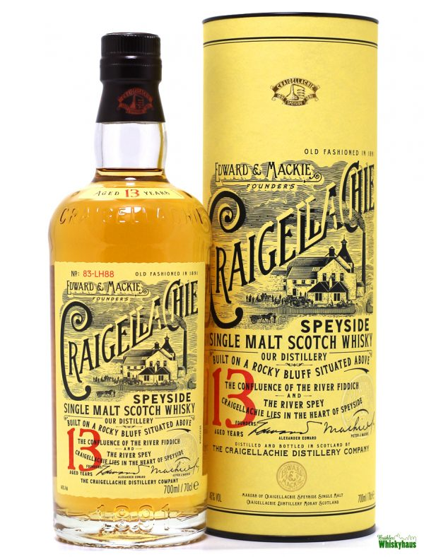 Craigellachie 13 Jahre - Speyside Single Malt Scotch Whisky