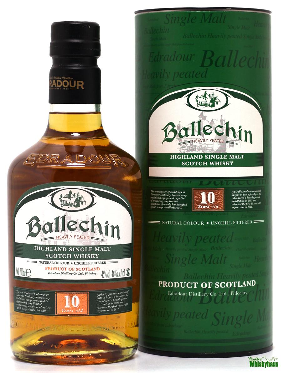 Ballechin (Edradour) 10 Jahre - Heavily Peated Highland Single Malt Scotch Whisky