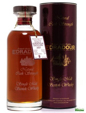 Edradour 14 Jahre - Cask N° 2211 - Natural Cask Strength - Single Malt Scotch Whisky