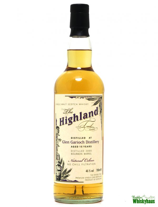 Glen Garioch 15 Jahre - Bourbon Barrel - The Highland Trail - Single Malt Scotch Whisky