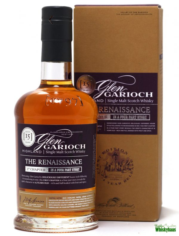 Glen Garioch 15 Jahre - The Renaissance 1st Chapter - Highland Single Malt Scotch Whisky