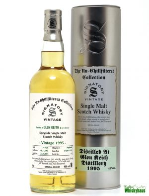 Glen Keith 19 Jahre - Hogsheads N° 171208 + 10712010 - The Unchillfiltered Collection - Single Malt Scotch Whisky