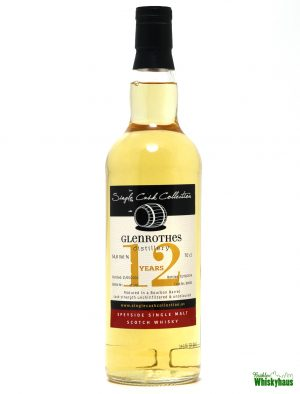 Glenrothes 12 Jahre - Bourbon Barrel No. 80092 - Single Cask Collection - Single Malt Scotch Whisky