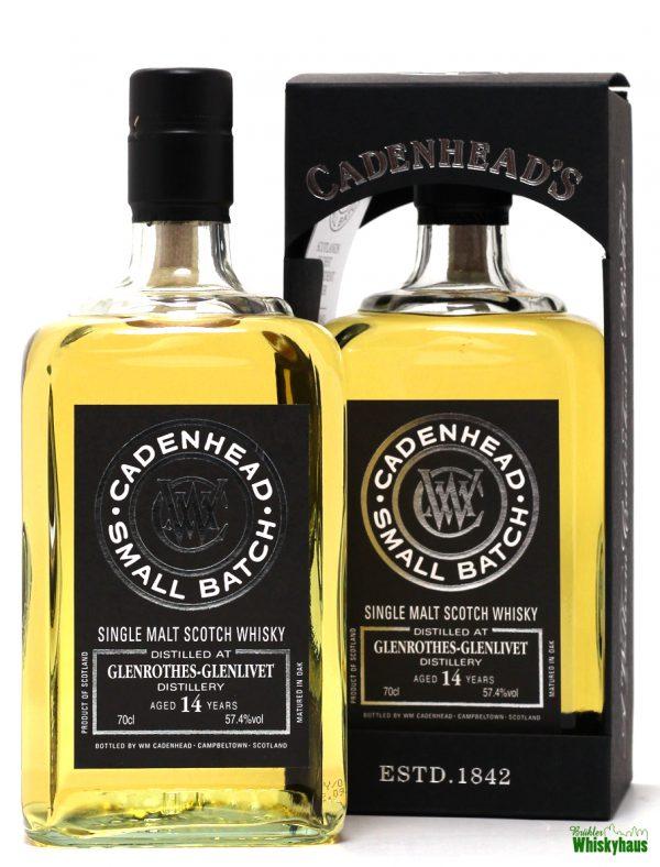 Glenrothes 14 Jahre - Bourbon Hogsheads - Cadenheads Small Batch - Single Malt Scotch Whisky