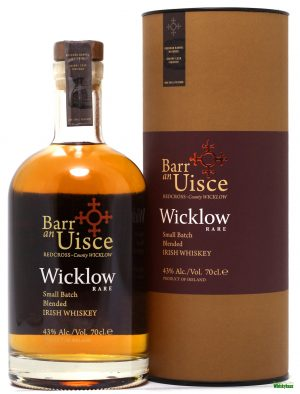 Barr an Uisce - Wicklow Rare - Wicklow Hills Whiskey - Single Malt Irish Whiskey