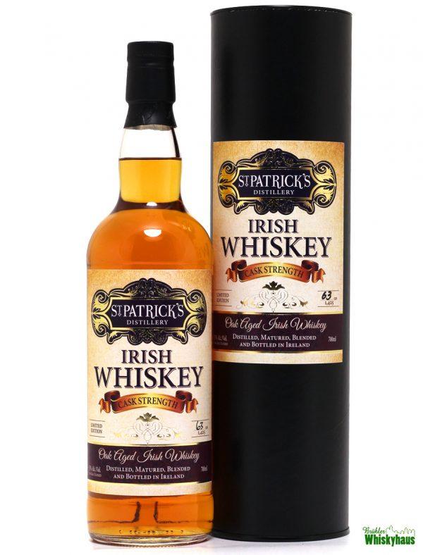 St. Patricks - Cask Strength - Blended Irish Whiskey