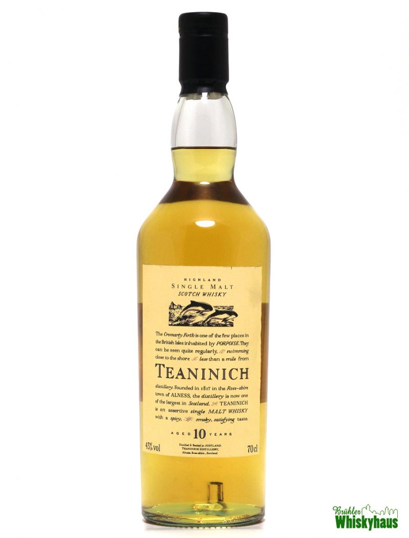 Teaninich 10 Jahre - Flora & Fauna - Highland Single Malt Scotch Whisky