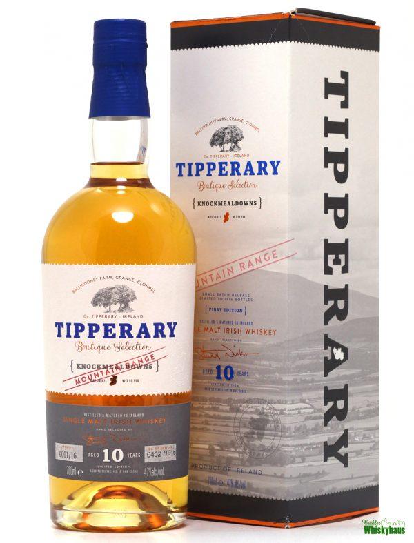 """Tipperary """"Knockmealdowns"""" Boutique Selection (Mountain Range) - Irish Single Malt Whiskey"""