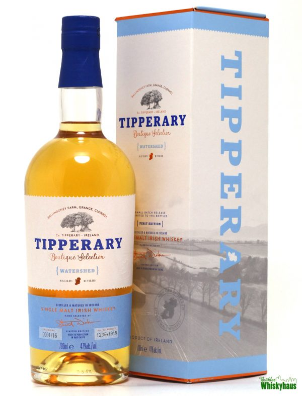 "Tipperary ""Watershed"" Boutique Selection - Irish Single Malt Whiskey"