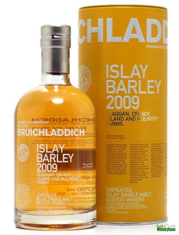 Bruichladdich Islay Barley 2009 - Unpeated Islay Single Malt Scotch Whisky