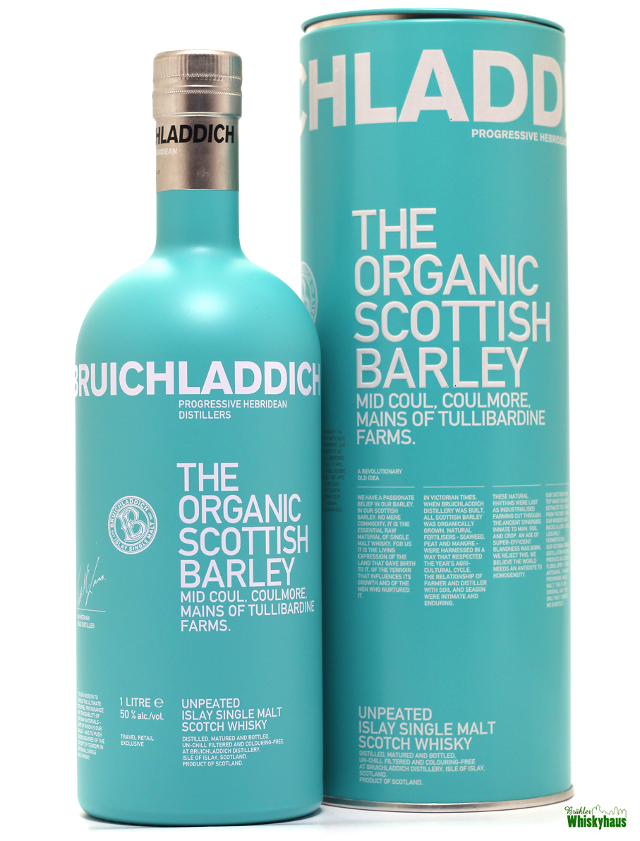 Bruichladdich The Organic Scottish Barley - Unpeated Islay Single Malt Scotch Whisky