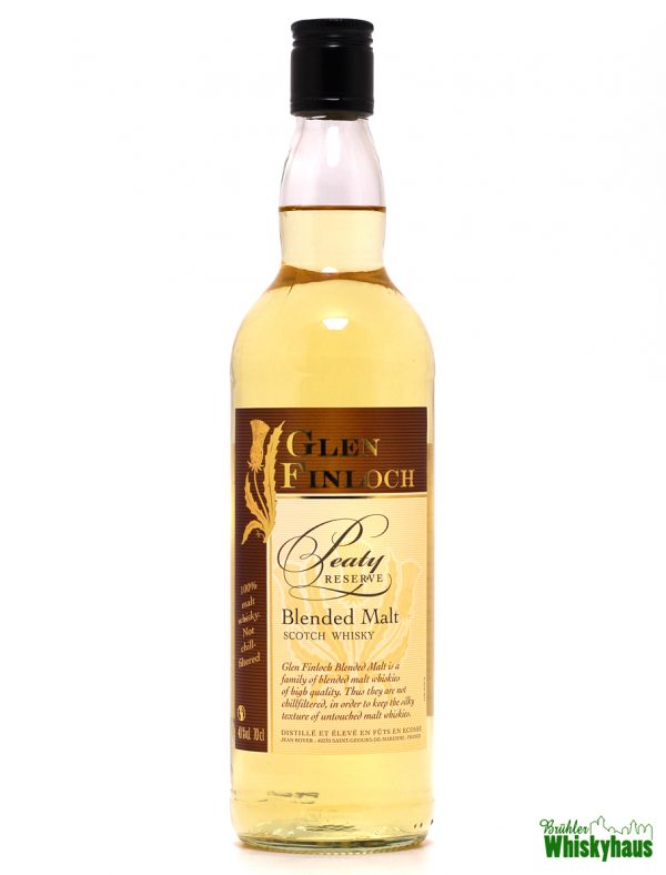 Glen Finloch - Peaty Reserve - Jean Boyer - Blended Malt Scotch Whisky