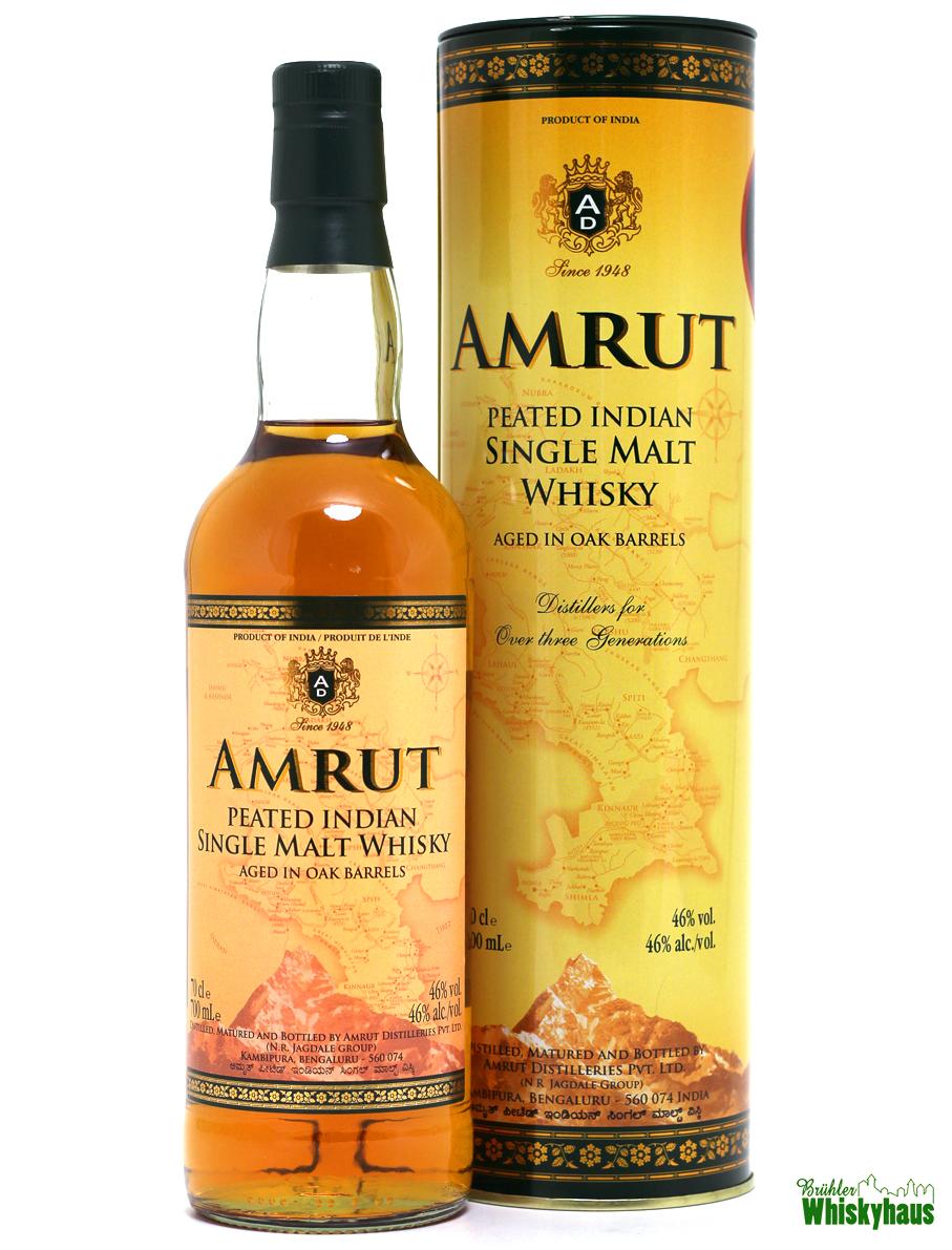 "Amrut ""Peated"" - Indian Single Malt Whisky"