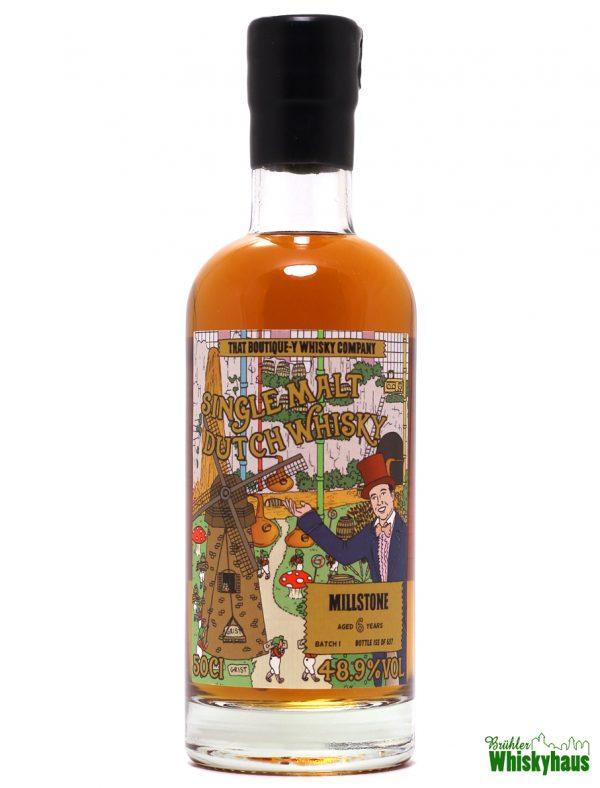 Millstone Distillery 6 Jahre - Batch N°1 - That Boutique-Y Whisky Company - Single Malt Dutch Whisky
