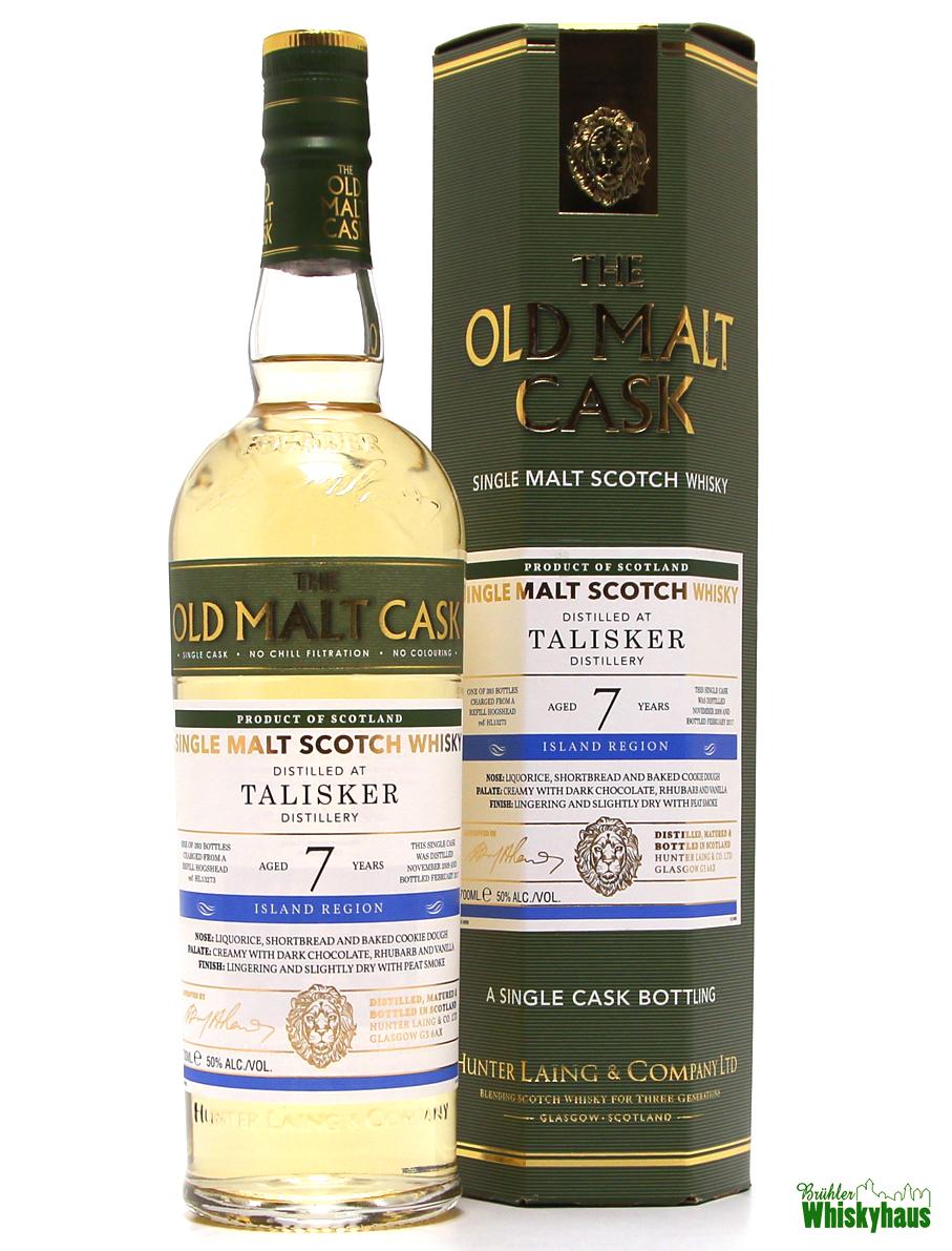 Talisker 7 Jahre - Refill Hogshead Ref HL13273 - The Old Malt Cask - Single Malt Scotch Whisky
