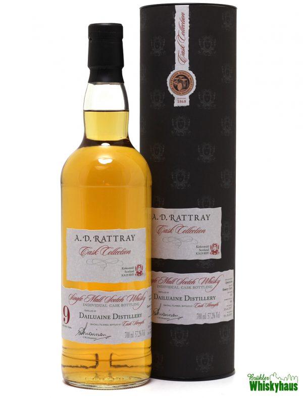 Dailuaine 9 Jahre - Sherry Butt N° 151 - A.D. Rattray - Single Malt Scotch Whisky
