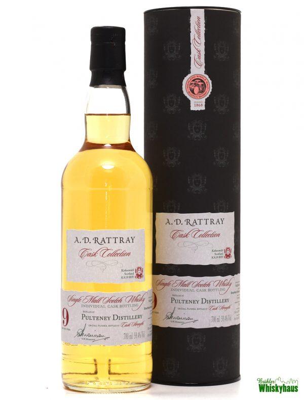 Pulteney 9 Jahre - Bourbon Barrel N° 700742 - A.D. Rattray - Single Malt Scotch Whisky