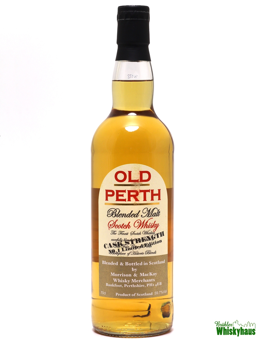 Old Perth Cask Strength - N°1 Limited Edition - Blended Malt Scotch Whisky